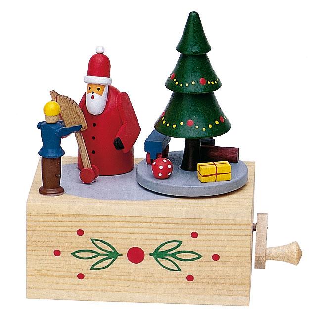 Musikdose Weihnachtsmann