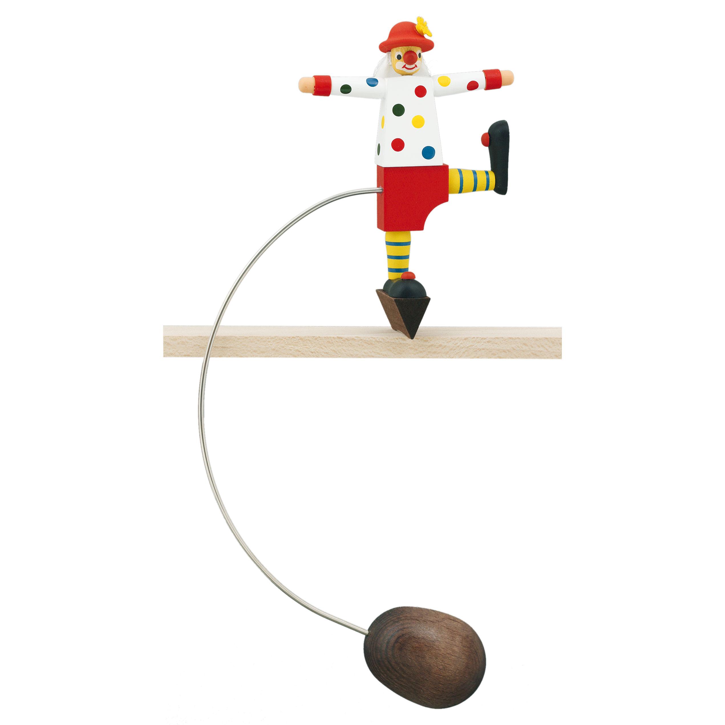 Clown rote Hose und Punkte